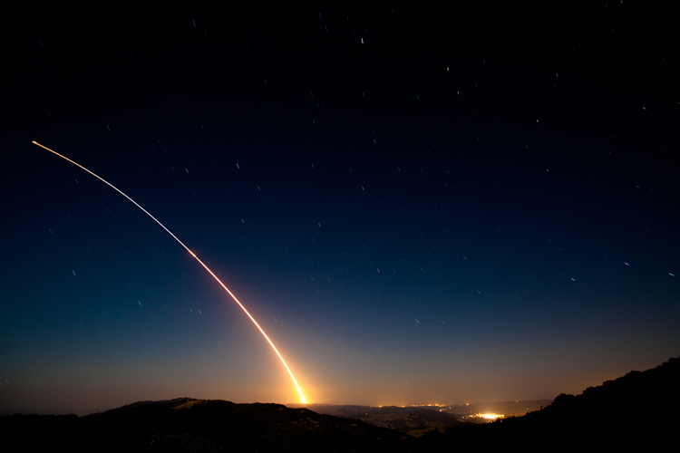 Spy Satellite Launch From Vafb